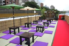 京都の納涼床が東京に出現 納涼床クルーズパーティー_サムネイル