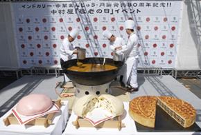 中村屋発売80周年敬老の日イベント 写真1
